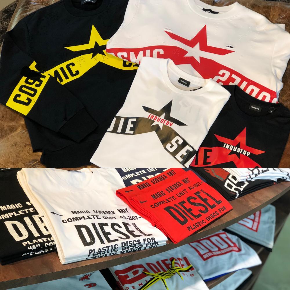 「DIESEL 19FW」 Tシャツ期間限定で再入荷!
