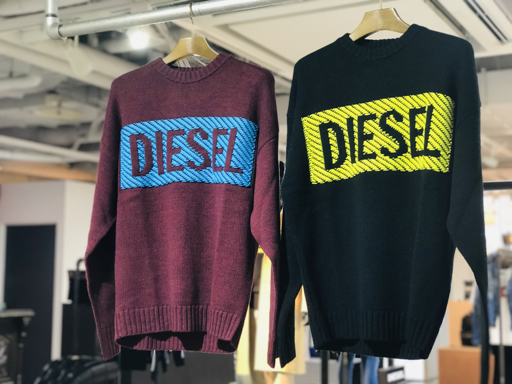 NEW!DIESEL KNIT WEAR