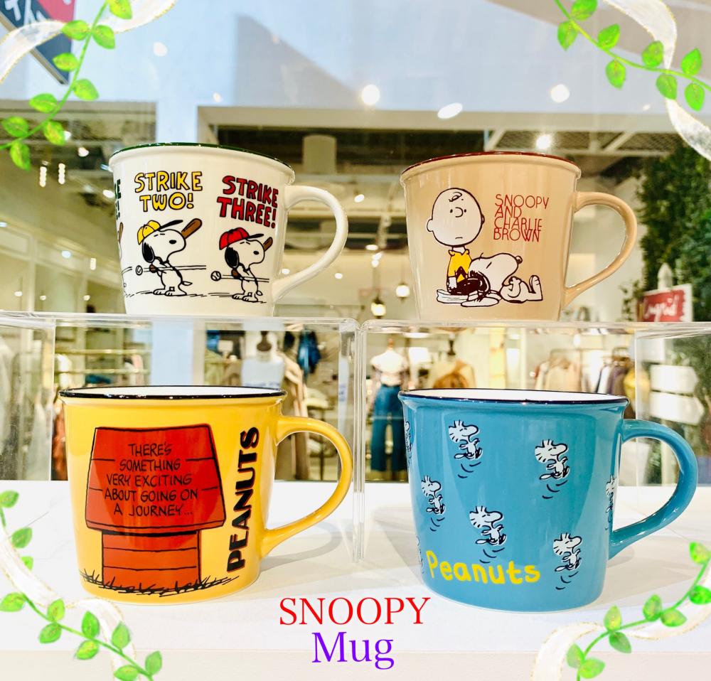 【SNOOPY】カラーマグ