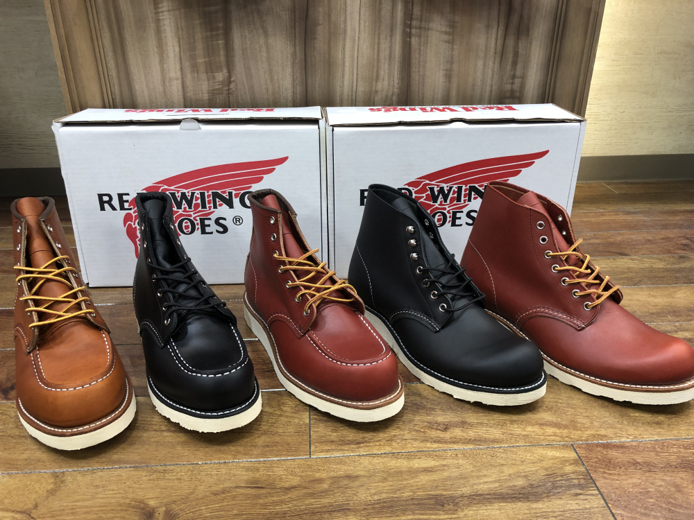 RED WING 入荷