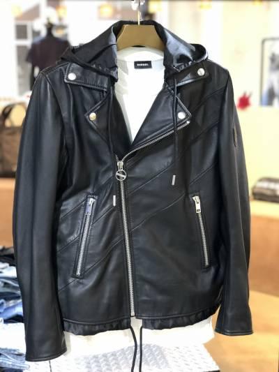 「DIESEL」NEW レザージャケット