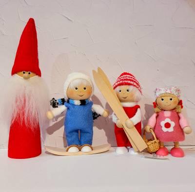 【NORDIKA nisse】木製人形