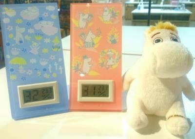 ムーミン 温湿度計