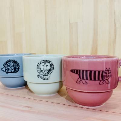 【リサラーソン】トリオスタックカップセット