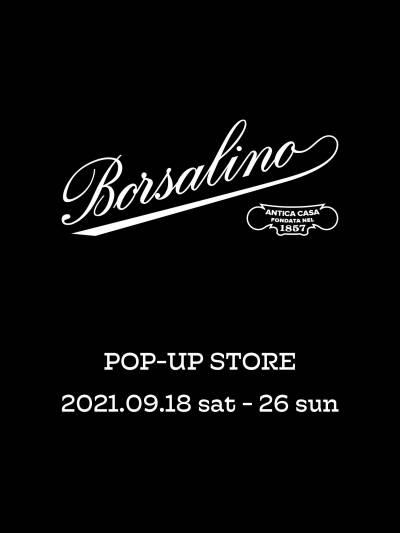 OVERRIDE  Borsalino POP-UP STORE