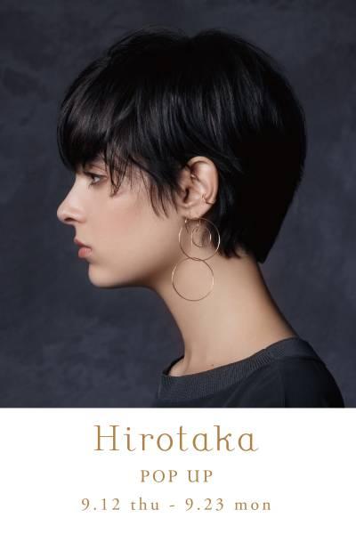 9/12〜 Hirotaka POP UP