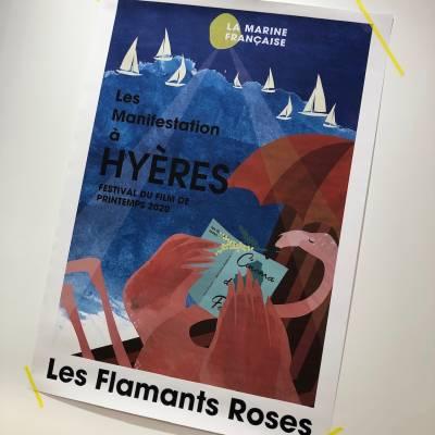 **  Les Flamants Roses  **
