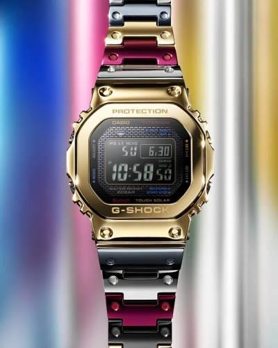 【G-SHOCK】チタン×マルチカラーのGMW-B5000TR