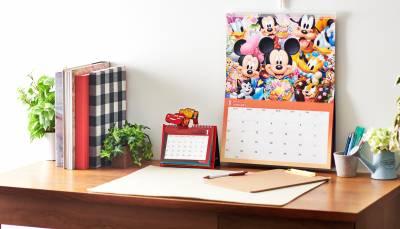 ディズニーキャラクターをデザインした2021年版カレンダーやスケジュール帳が8/11(火)より発売