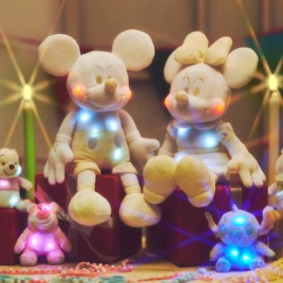"""""""Disney Twinkle Collection""""!ピカピカ光るぬいぐるみが7/7(火)に登場"""