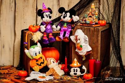 毎年恒例のハロウィーンシリーズがディズニーストアに9/11(金)登場!