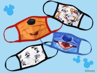 ディズニーキャラクター柄マスクがディズニーストアに登場!