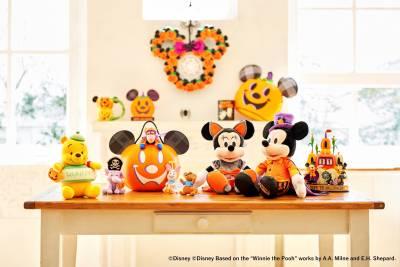 ハロウィーンを楽しもう!仮装したミッキーやプーさんたちのアイテムなどを順次発売
