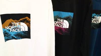 THE NORTH FACEの秋の新作ロンT