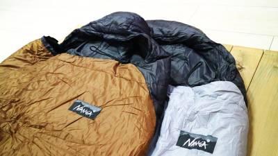 NANGAの別注限定モデルの寝袋が再入荷!